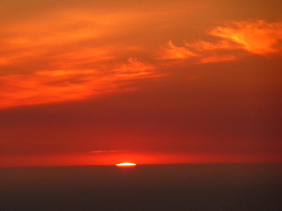 Citaten Over Zonsondergang : Inkaapstad zonsondergang bij apostelen